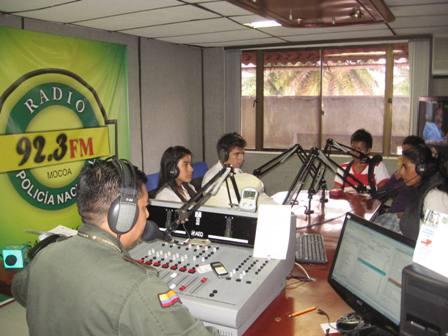Emisora de la Policía 92.3 FM, un medio con compromiso frente a la seguridad ciudadana