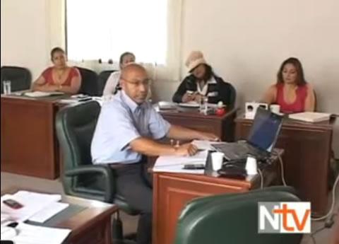Gerente de la ESE Hospital Mocoa en la Asamblea