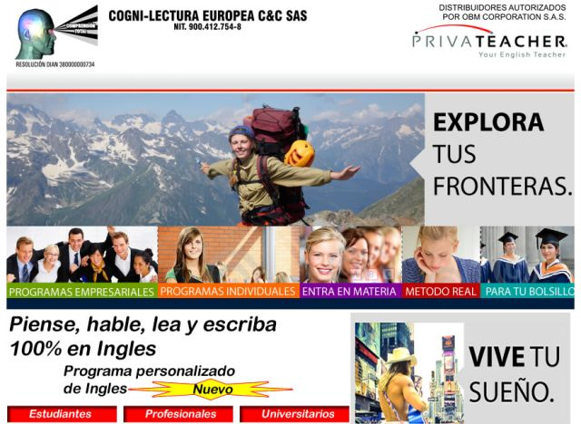 COGNI-LECTURA Europea C&C s.a.s. – Ingles y lectura rápida