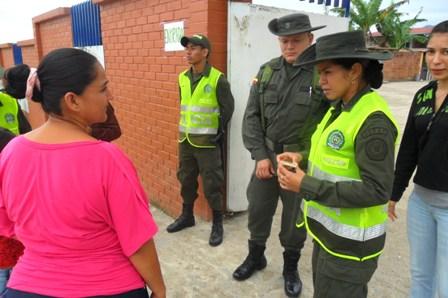 Policía garantizó el normal desarrollo de las consultas en el Putumayo