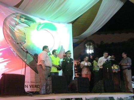 """Lanzamiento del Plan Integral Policial para la seguridad del ciudadano """"Corazón Verde"""""""