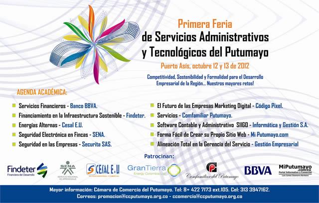 Feria de Servicios Administrativos y Tecnológicos del Putumayo.