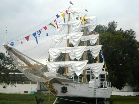 El Buque Gloria navegará en la Amazonía Colombiana