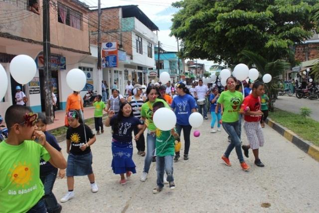 Con éxito se celebró el Día Blanco en Puerto Asís