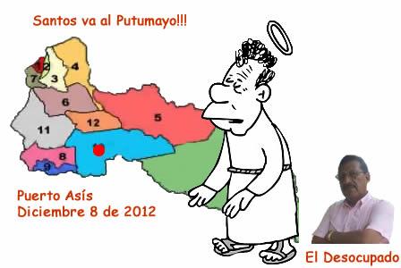 Santos va al Putumayo – El Desocupado