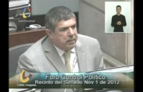 Alcalde de Puerto Asís interviene en el Congreso de la República