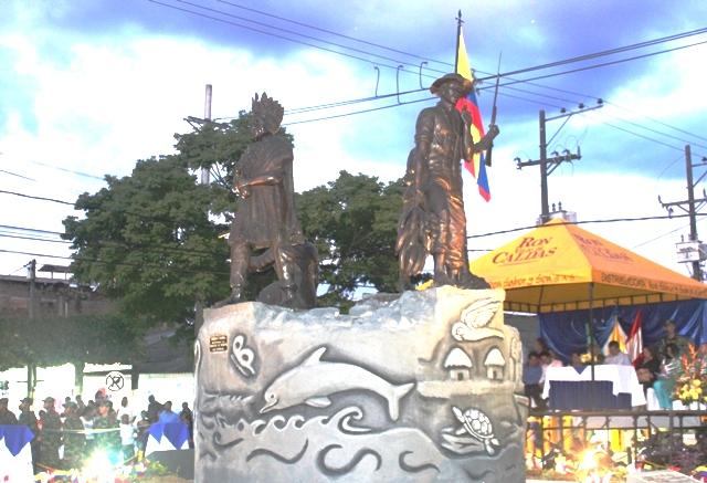 Inaugurado monumento Centenario en Puerto Asís