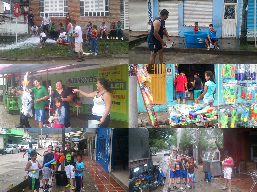 Con éxito se realizó el carnaval del agua en Mocoa