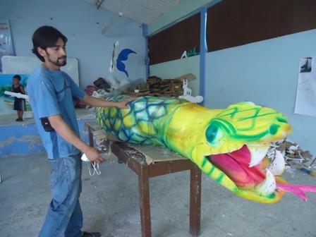 «El carnaval es la muestra cultural mas grande de una región» Maestro Alexander Gonzalez