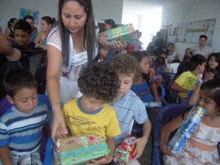 Los niños, el centro de atención esta navidad en Villagarzón