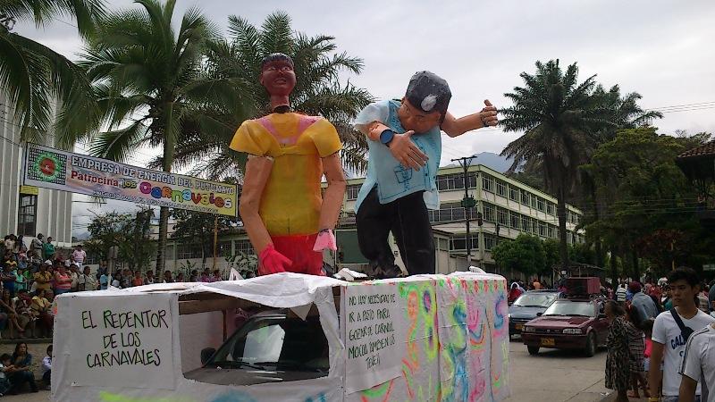 Desfile de Años Viejos en Mocoa