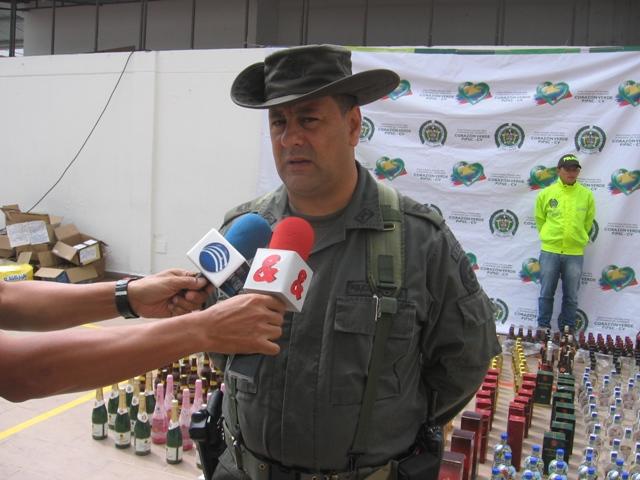 Policía entrega balance de seguridad en el 2012 en el Putumayo