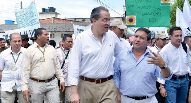 Campesinos y victimas del Putumayo, con mayor participación
