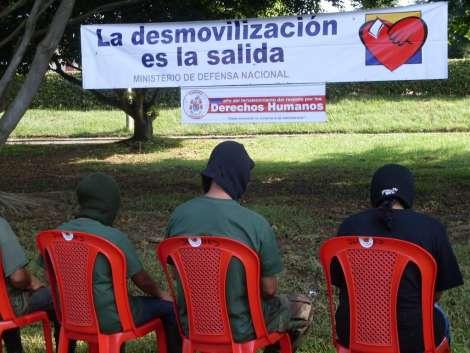 Desmovilizaciones del Frente 32 y 48 de las FARC en el Putumayo