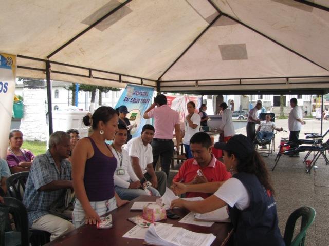 Exitosa campaña de donación de sangre en Mocoa