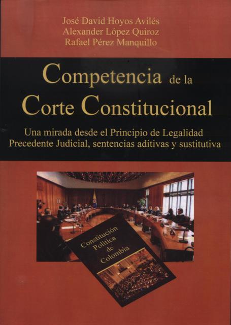 Competencia de la Corte Constitucional