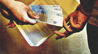 La corrupción: Principal proveedor de pobreza!
