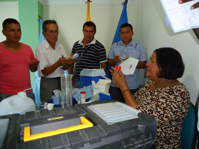 Secretaría Departamental de Salud y OPS dictan Taller sobre vigilancia de la calidad del agua