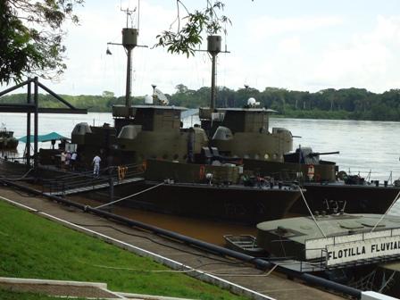 En Puerto Leguízamo la Armada Nacional, es garantía de soberanía.