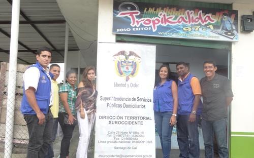 Superintendencia de Servicios Públicos realiza control y vigilancia en San Miguel