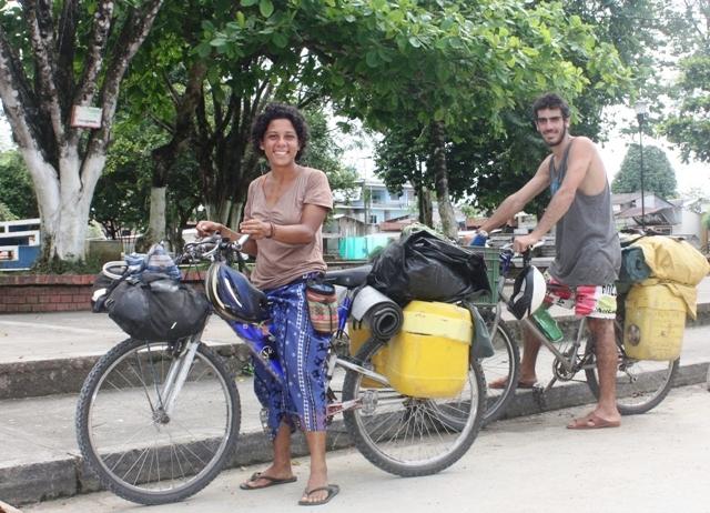 Viajeros en San Miguel