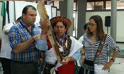 Visita de la Directora Nacional del SENA al Putumayo