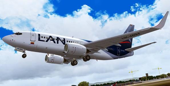 Segunda frecuencia de vuelos de LAN para Puerto Asís
