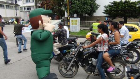 Policía realiza campaña educativa contra delitos que afectan a Mocoa