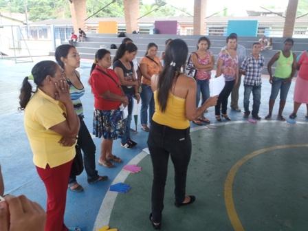 Población Víctima de Puerto Caicedo recibió orientación del SENA