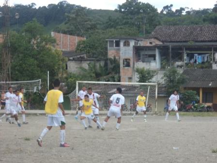Fase final del Campeonato de Futbol Interbarrios de Mocoa