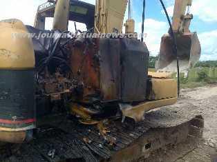 Incineran maquinaria en Puerto Asís Putumayo