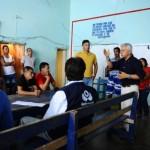 1. JorgeArmando Otálora, defensor del Pueblo escuchó atento cada una de las peticiones de las comunidades asentadas sobre la ribera del río Putumayo