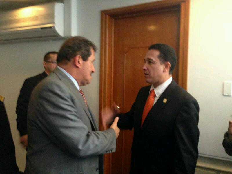 Representante Ochoa se reunió con Vicepresidente Garzón