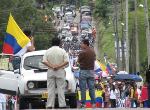 Alrededor de 5 mil personas caminaron con semillas y azadones en el Valle de Sibundoy