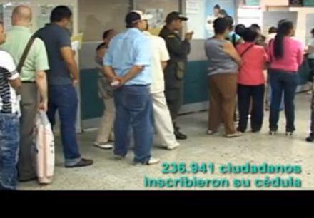 En Putumayo 3.257 ciudadanos inscribieron su cédula para votar en las elecciones de 2014