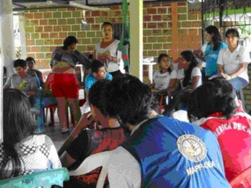 26 y 27 de Octubre de 2013. Los Jóvenes de Putumayo se comprometen por la reparación a las víctimas