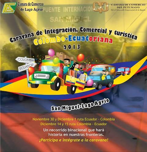 1ra Caravana de Integración Comercial y Turística Colombo – Ecuatoriana