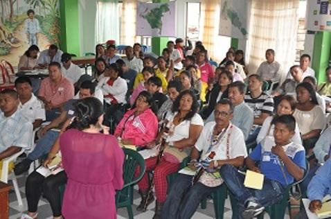 Pueblos indígenas reunidos en el Departamento del Putumayo