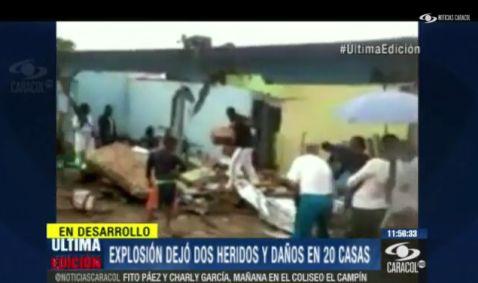 Farc destruye con explosivos 20 casas en Puerto Colon Putumayo