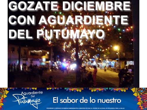 Gózate Diciembre con Aguardiente del Putumayo