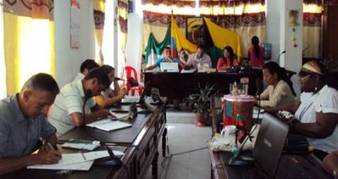 Alcalde de Orito no asistió a la sesión del Concejo Municipal
