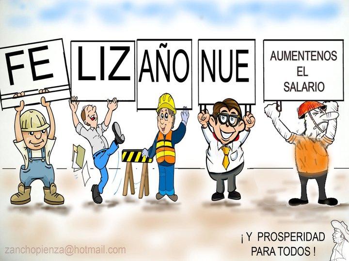 ¡ FE- LIZ – AÑO – NUE- … ! ¡… y prosperidad para todos !