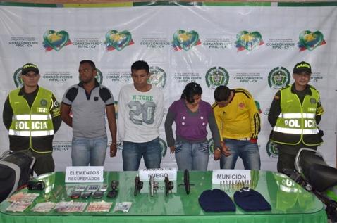 Capturada banda de atracadores en el Putumayo