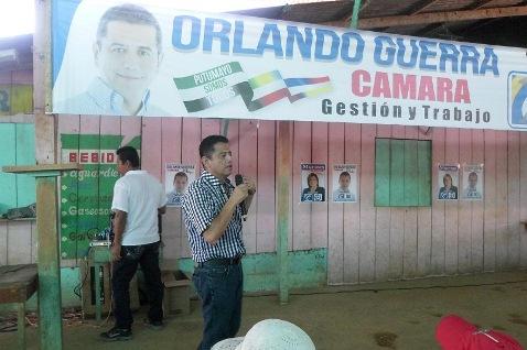 Lanzamiento oficial de la candidatura a la Cámara de Representante de Orlando Guerra