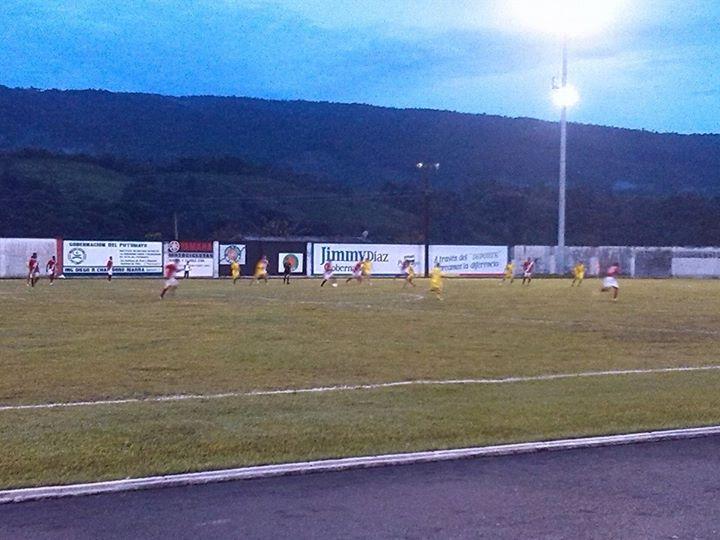 Zonal Nacional Sub-17 de Futbol en Putumayo. Fecha 1