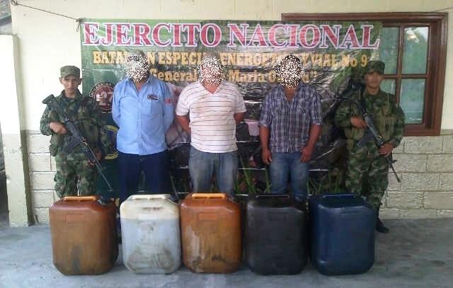 Ejército captura seis sujetos por diferentes delitos