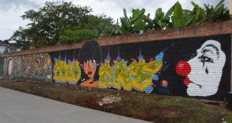 Pintura en la capital cultural del Putumayo