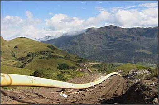 Petróleo del Putumayo se transportara por oleoducto ecuatoriano