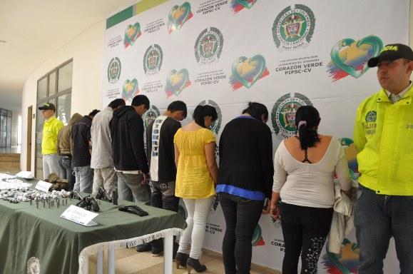 Capturadas 64 personas en la última semana por la Policía Putumayo