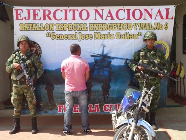 Capturado presunto integrante del frente 48 de las Farc